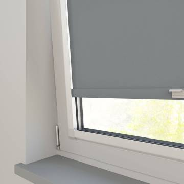 Perfect Fit Roller Blinds Stockholm Mid Grey