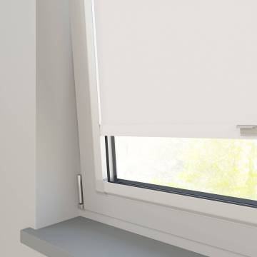 Perfect Fit Roller Blinds Stockholm Paper White