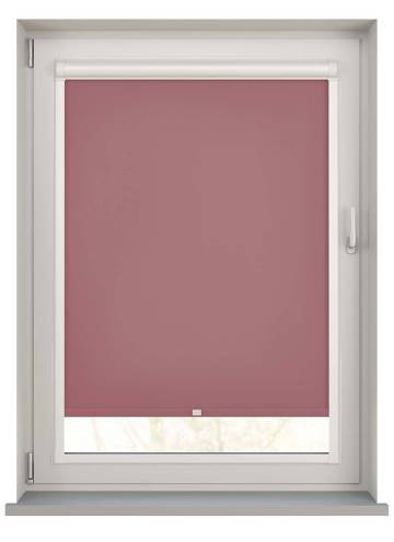 Perfect Fit Roller Blinds Stockholm Rosewood Pink