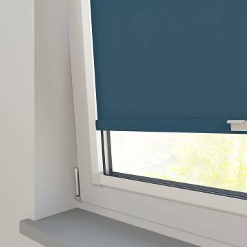 Perfect Fit Roller Blinds Stockholm Sapphire Blue