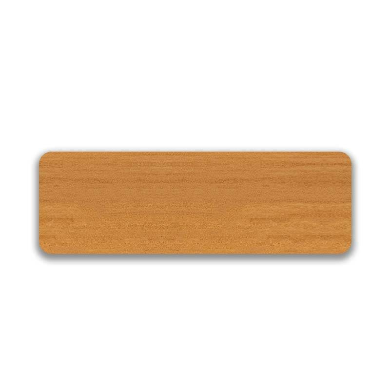 Wood Grain Effect 25mm Golden Oak