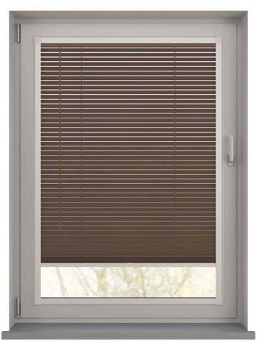 Perfect Fit Wooden Blinds Zambezi 25mm Auburn