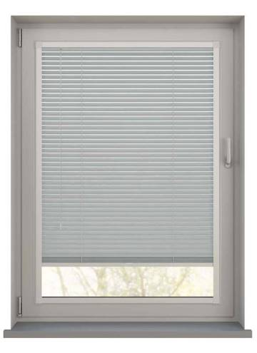 Perfect Fit Wooden Blinds Zambezi 25mm Cloud