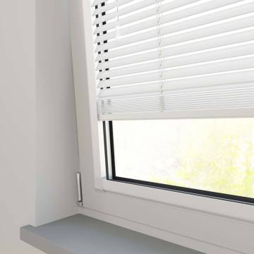 Perfect Fit Wooden Blinds Zambezi 25mm Pure White