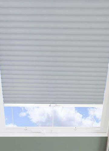 Pleated Skylight Blinds Hive Blackout Flame Retardant Iron