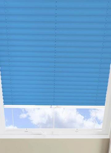 Pleated Skylight Blinds Infusion Solar Azure