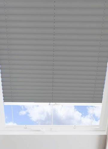 Pleated Skylight Blinds Infusion Solar Concrete