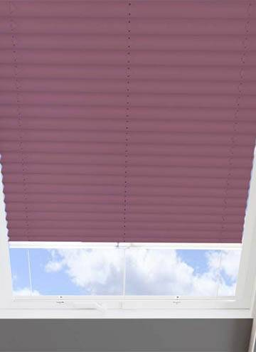 Pleated Skylight Blinds Infusion Solar Purple
