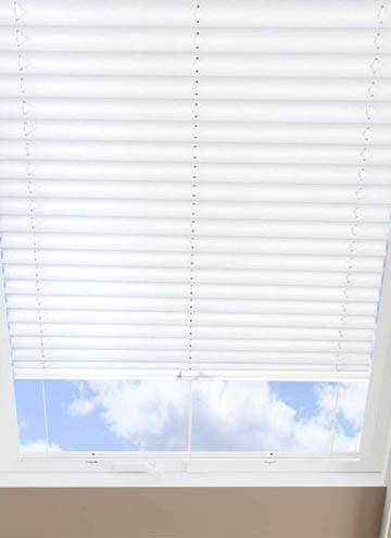 Pleated Skylight Blinds Infusion Solar White