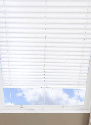 Pleated Skylight Blinds Infusion White