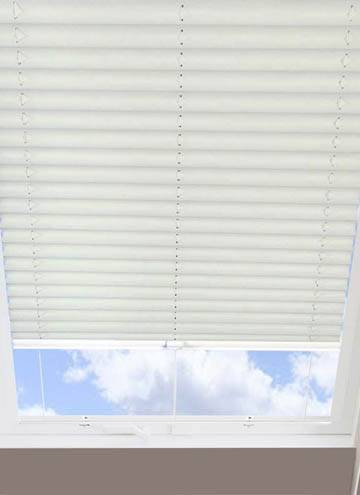 Pleated Skylight Blinds Jasmine Solar Ice