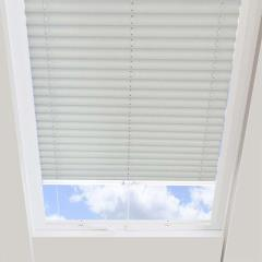 Pleated Skylight Blinds Calia Solar Flame Retardant Beige