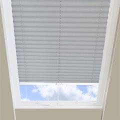 Pleated Skylight Blinds Calia Solar Flame Retardant Charcoal