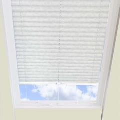 Pleated Skylight Blinds Charlotte Solar Snowdrop