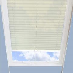 Pleated Skylight Blinds Hampton Cream - Translucent