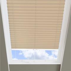 Pleated Skylight Blinds Infusion Beige