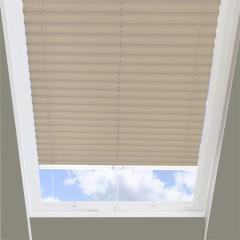 Pleated Skylight Blinds Infusion Solar Beige