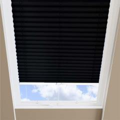 Pleated Skylight Blinds Infusion Solar Black