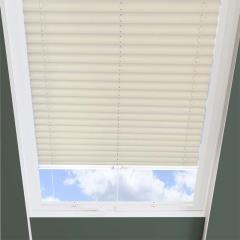 Pleated Skylight Blinds Infusion Solar Ivory