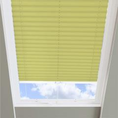 Pleated Skylight Blinds Infusion Solar Lime Green
