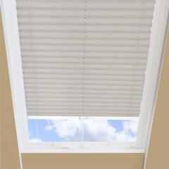 Pleated Skylight Blinds Nordic Solar Cookie