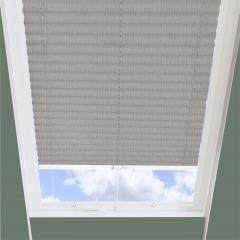 Pleated Skylight Blinds Ribbons Solar Fawn