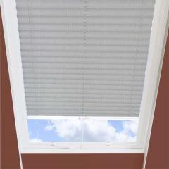 Pleated Skylight Blinds Ribbons Solar Silver