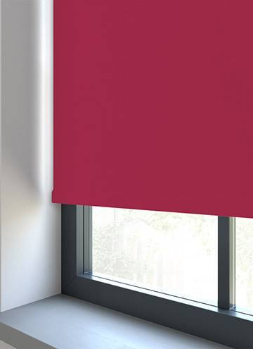 Unilux PVC Blackout Flamingo Pink