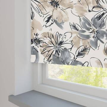 Roller Blinds Bloom PVC Blackout Amelie