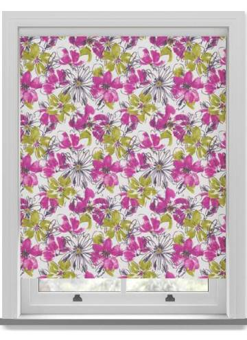Roller Blinds Bloom PVC Blackout Juno