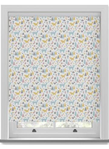 Roller Blinds Wonderland Blackout Pastel