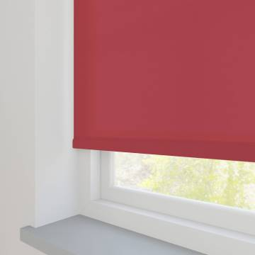 Roller Blinds Splash Scarlet Red
