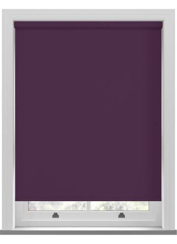 Roller Blinds Unilux PVC Blackout Aster Purple