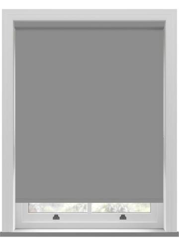 Roller Blinds Bella Blackout Flint Grey