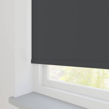 Roller Blinds Oslo Blackout Dark Grey