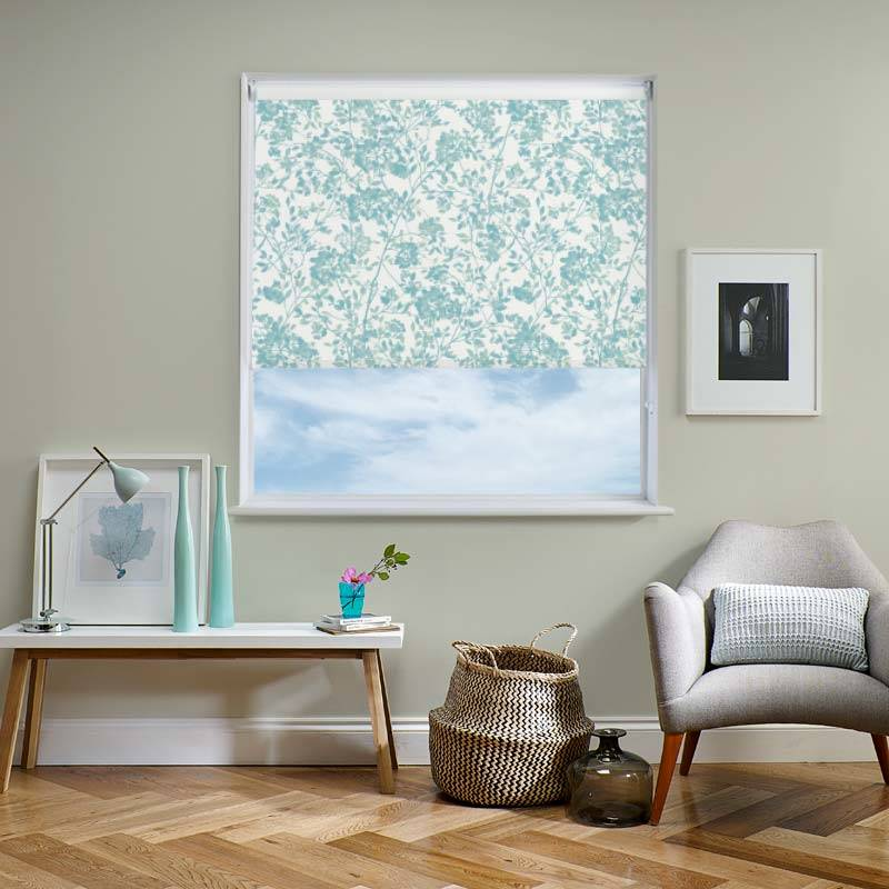 Blossom Jade Roller Blind Direct Blinds