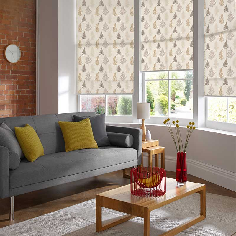 Fern Sand Roller Blind Swift Direct Blinds