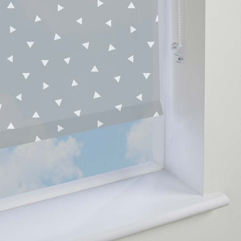 Pico Grey Roller Blind Direct Blinds