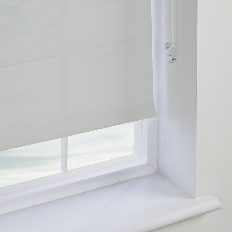 Bermuda Plain Grey Roller Blind Direct Blinds
