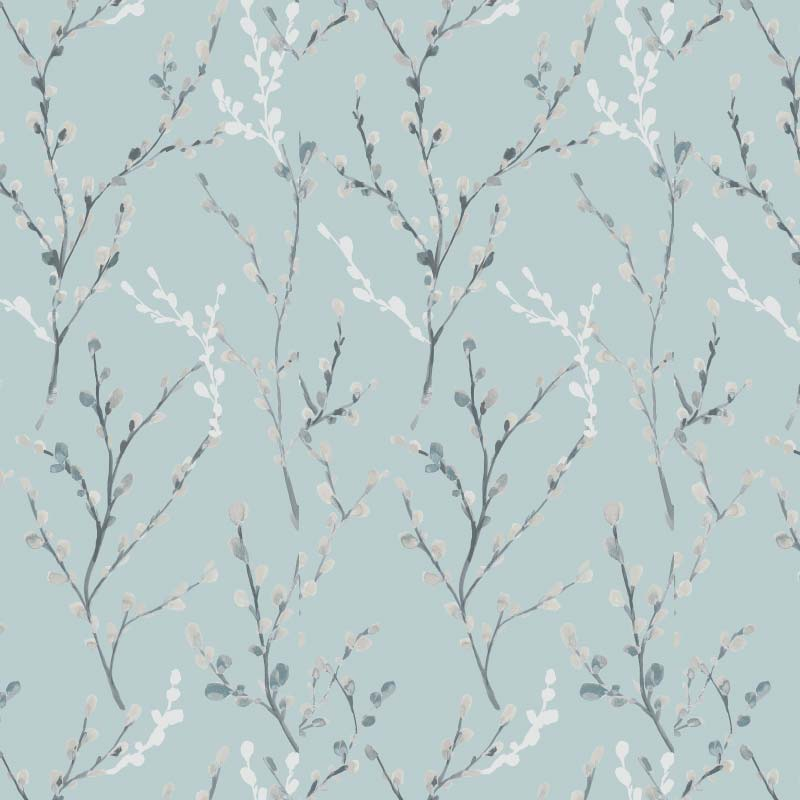 Willow Blackout Morning Mist Blue