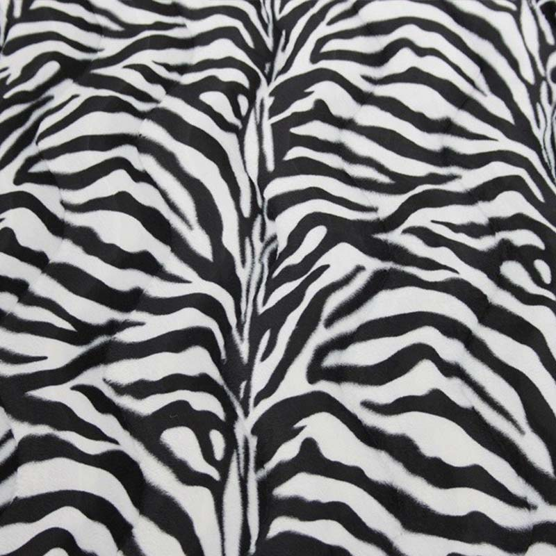 Safari Zebra White swatch