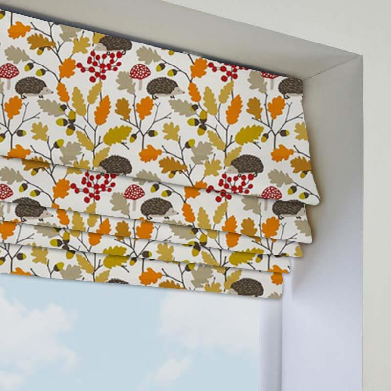 Roman Blinds Prickly Autumn