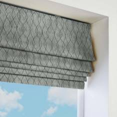 Roman Blinds Afterglow Otter Grey