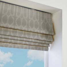 Roman Blinds Destiny Cloud Grey