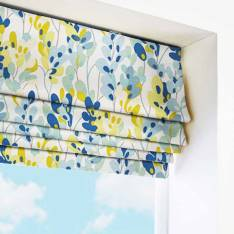 Roman Blinds Twirl Lemon Zest