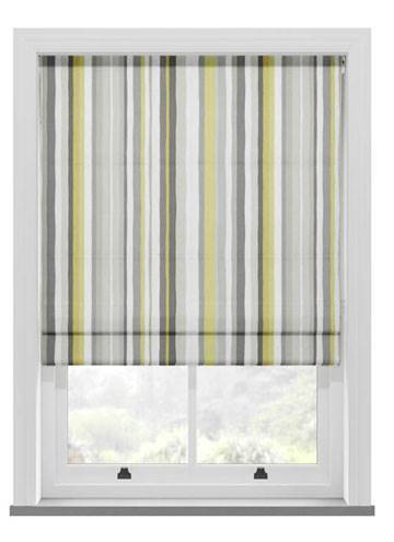 Roman Blinds Carnival Chartreuse
