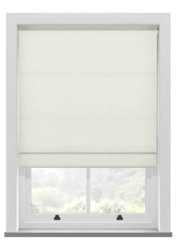 Roman Blinds Fagel Ivory