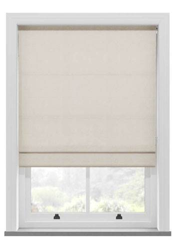 Roman Blinds Hopsack Wicker