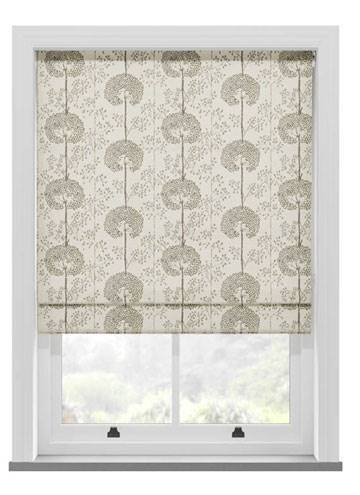 Roman Blinds Moonseed Praline