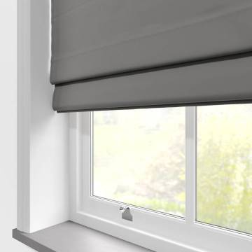 Roman Blinds Panama Grey